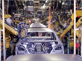 Nissan Production Line