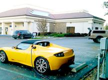 Tesla Solar Charging Rabobank