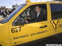 SF Escape Hybrid Taxi Newsom