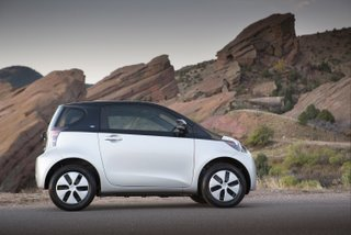 Scion IQ EV Side View