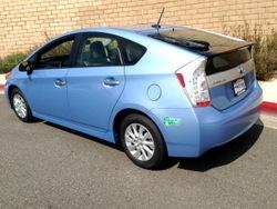 Toyota,Prius,Plug-in, EV, HOV lane