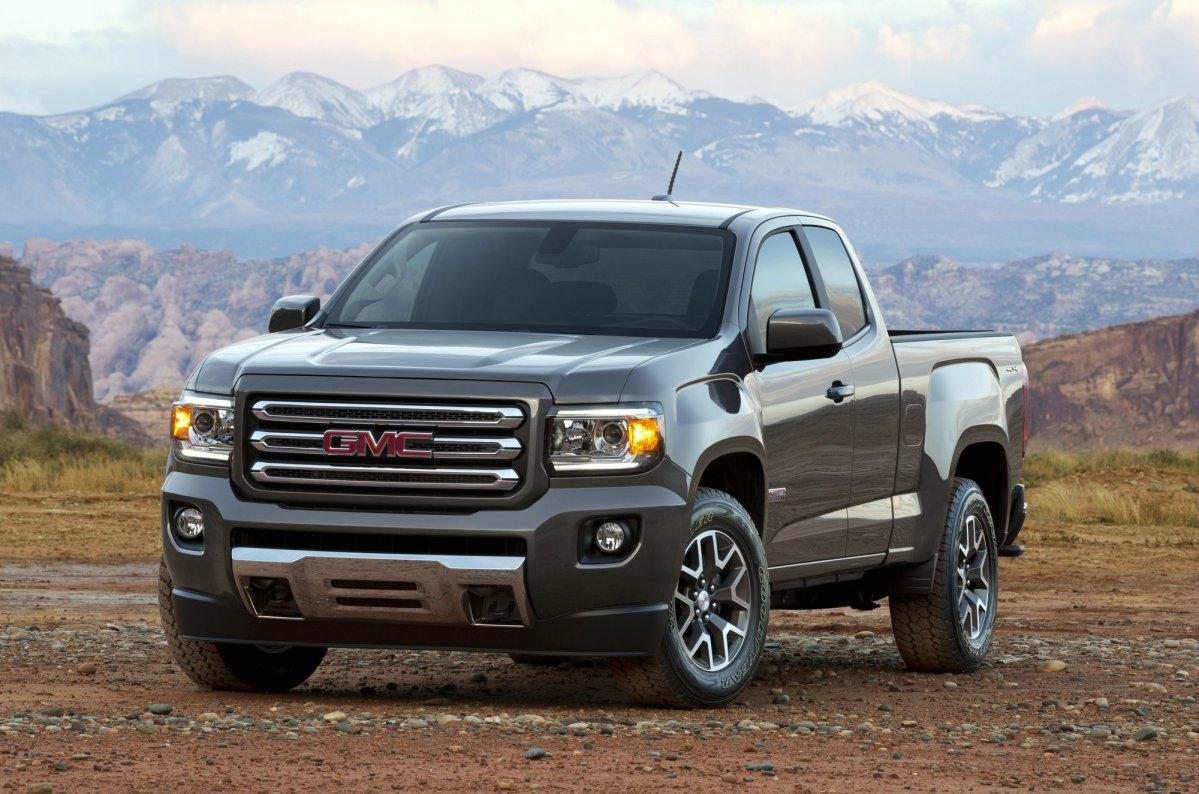 2015,GMC,Canyon,midsize truck,fuel economy,mpg