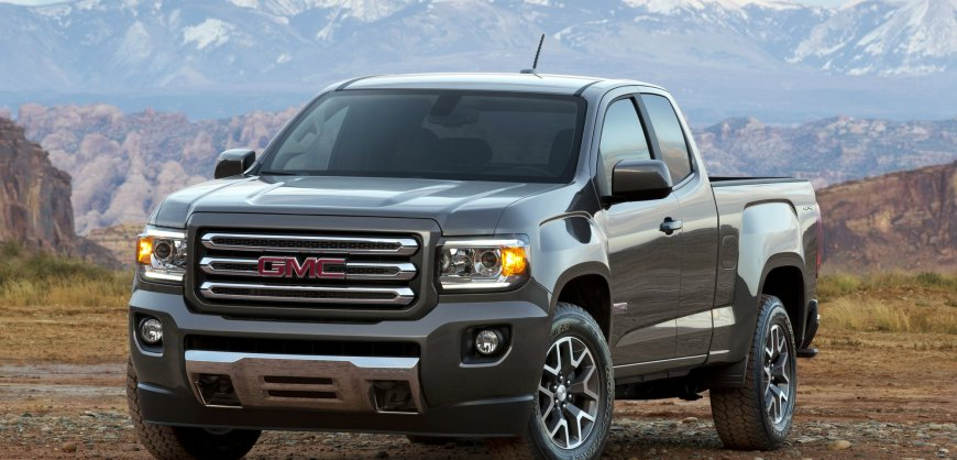2015,GMC,Canyon,midsize truck,fuel economy,mpg