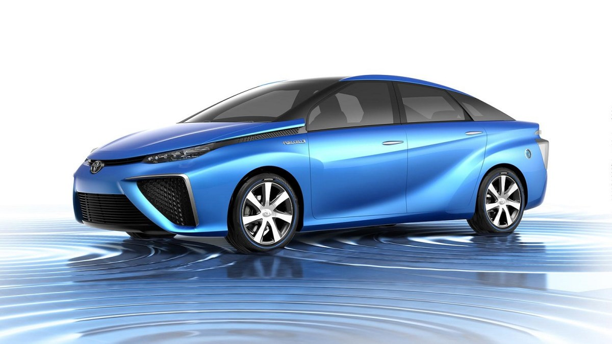 Toyota Mirai, fuel cell, electric car,future car