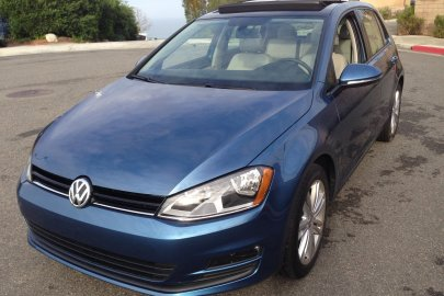 2015 Volkswagen, VW Golf, TDI, clean diesel,fuel economy,mpg
