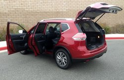 2015, Nissan, Rogue, SL, functionality,storage
