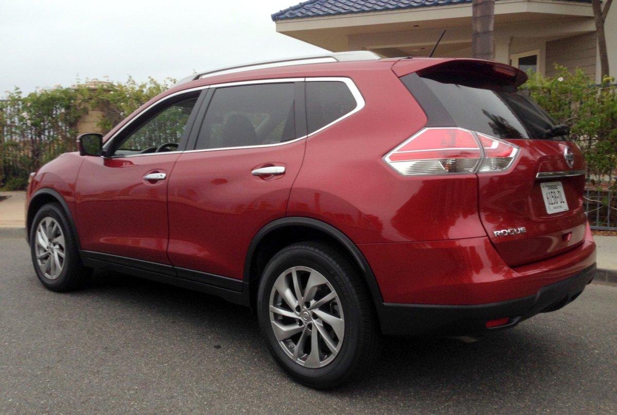 2015,Nissan Rogue,SL CUV