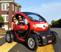 Nissan,Scoot Networks,EV,electric car, NEV, neighborhood electric