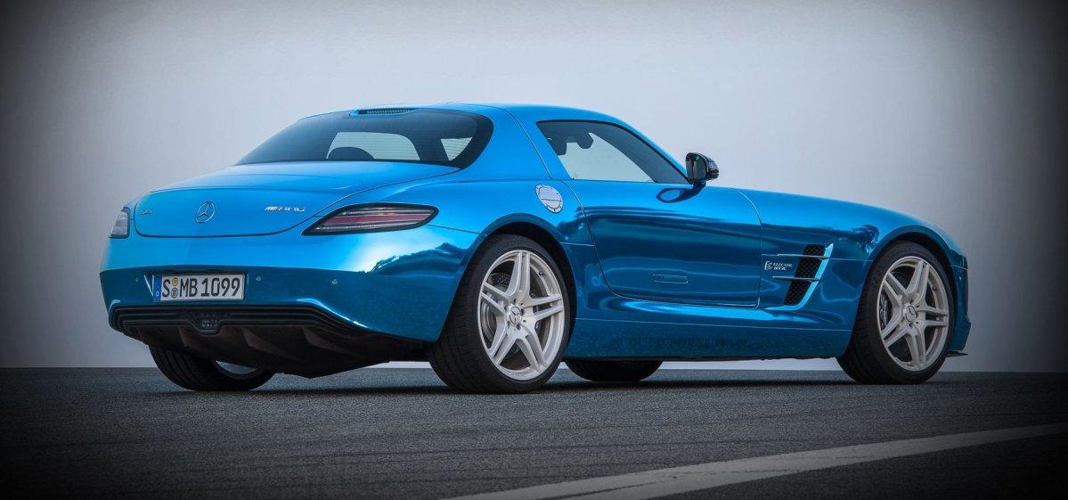 SLS Electric, Mercedes-Benz,AMG