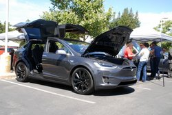 Electric Vehicle Day,Tesla,Model X,EV,