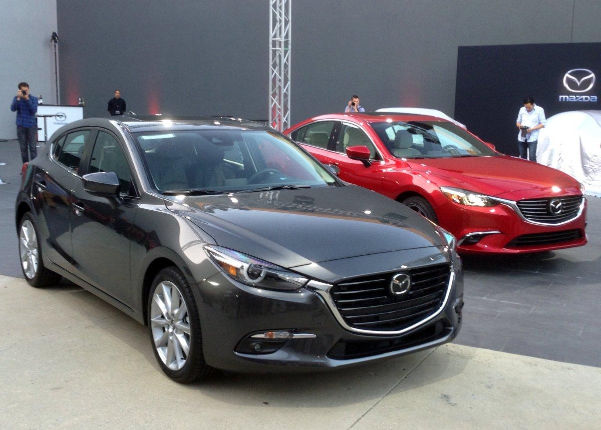 2017 Mazda3 & Mazda6