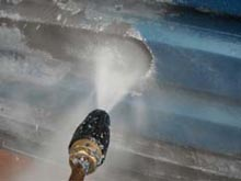 Image of pressure washing service covering Liverpool Merseyside pressure washing