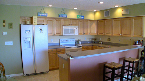 Kitchen in Captains Cove Condos for sale - Indian Shores Real Estate