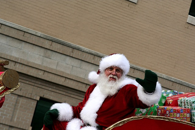 WHEN SANTA CAME TO CHERRY HILL, NEW JERSEY by DC Lambert