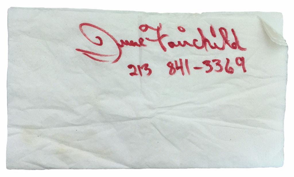 JUNE FAIRCHILD ISN'T DEAD  by Alexis Rhone Fancher