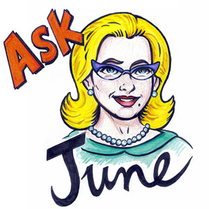 Ask June: The Lying Neighbor and the Lover Who Doesn't Love Books