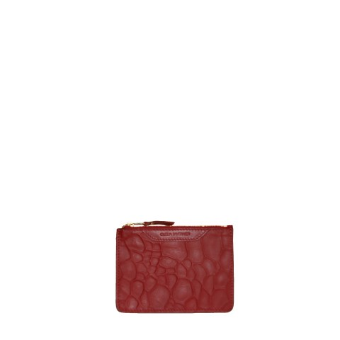 Clelia Tavernier_Minipouch_embosse_burgundy