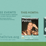 We're Kicking off Live on the Drive with Thomasina Petrus
