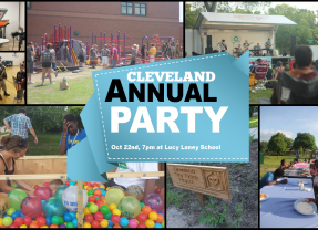 Save the Date! Annual Party on October 22nd