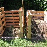 Compost Bin Building and Nourishing The Garden