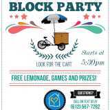 Pop-Up Block Parties Begin!