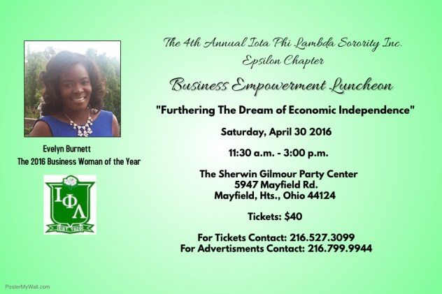 Iota Phi Lambda Annual Business Woman of the Year Luncheon @ The Sherwin Gilmour Party Center | Mayfield Heights | Ohio | United States