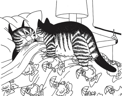 top cat cartoon coloring pages - photo#31