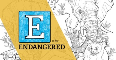 E is for Endangered: The ABC's of Endangered Species, Letter A