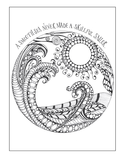 Coloring Pages For Recovery : Inkspirations coloring books review giveaway cleverpedia
