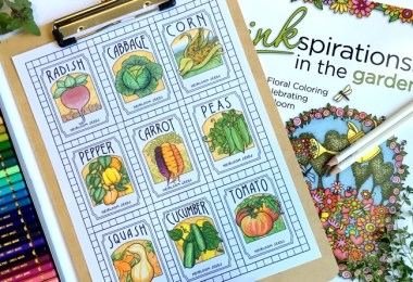 Interview with Beth Logan & Review of Her New Book, Inkspirations in the Garden