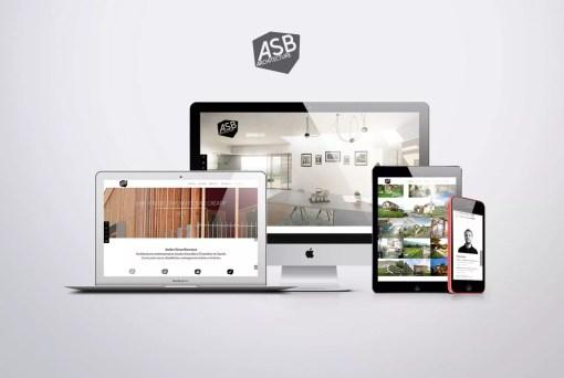 Création et référencement du site web – ASB architecture