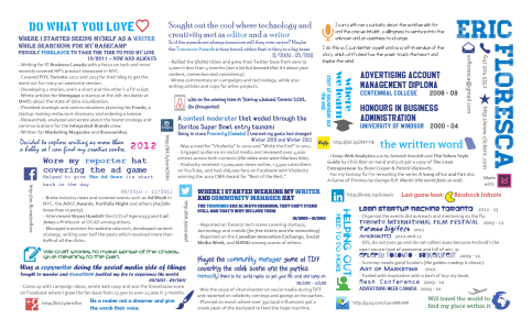 My CV 2013 style, click to see the full PDF.