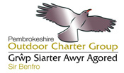 We are a member of the Outdoor Charter in Pembrokeshire, an organisation that looks at the best practise of outdoor companies, especially in relation to environmental issues...