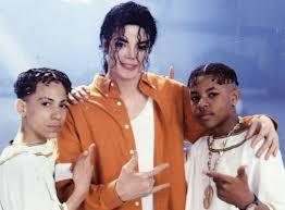 Kris Kross with Michael Jackson