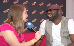 Richie Stephens being interviewed by Big FM on his European tour.