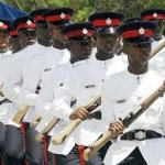 Members Of The Jamaica Police Force