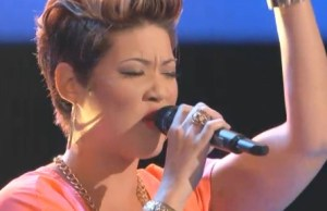 Tessanne Chin auditions for  The Voice