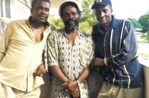 The Melodians: Left to right, Brent Down, Trevor McNaughton and Tony Brevett