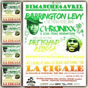 Chronixx:ParisFlyer
