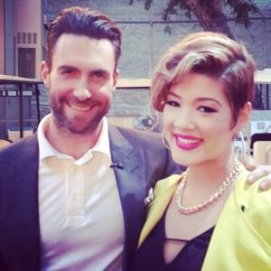 Adam Levine & Tessanne Chin
