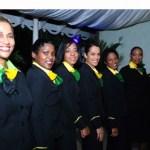 Hostesses of Fly Jamaica