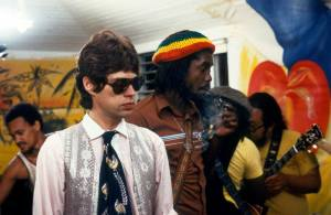 Peter Tosh & Mick Jagger in 1978