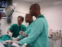 Dr. Alfred Dawes & team