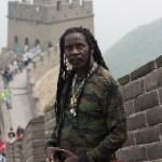 Everton Blender poses at The Great-Wall-Of-China