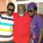 Freddie McGregor and sons Chino & Stephen
