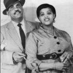 Louise Bennett & Eric Coverley in earlier days.