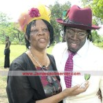 "Shabba Ranks and his mother ""Mama Christie"""