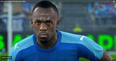 BOLT TO FEATURE IN PRO EVOLUTION SOCCER 2018 GAME!