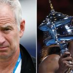 Jon McEnroe and Serena Williams