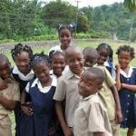 School Children in Clarendon